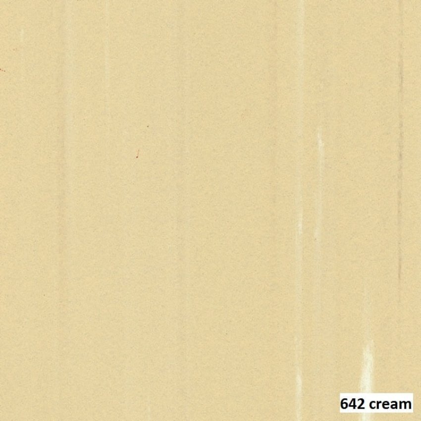 PVC VINYL TILE  642 CREAM MACTILE