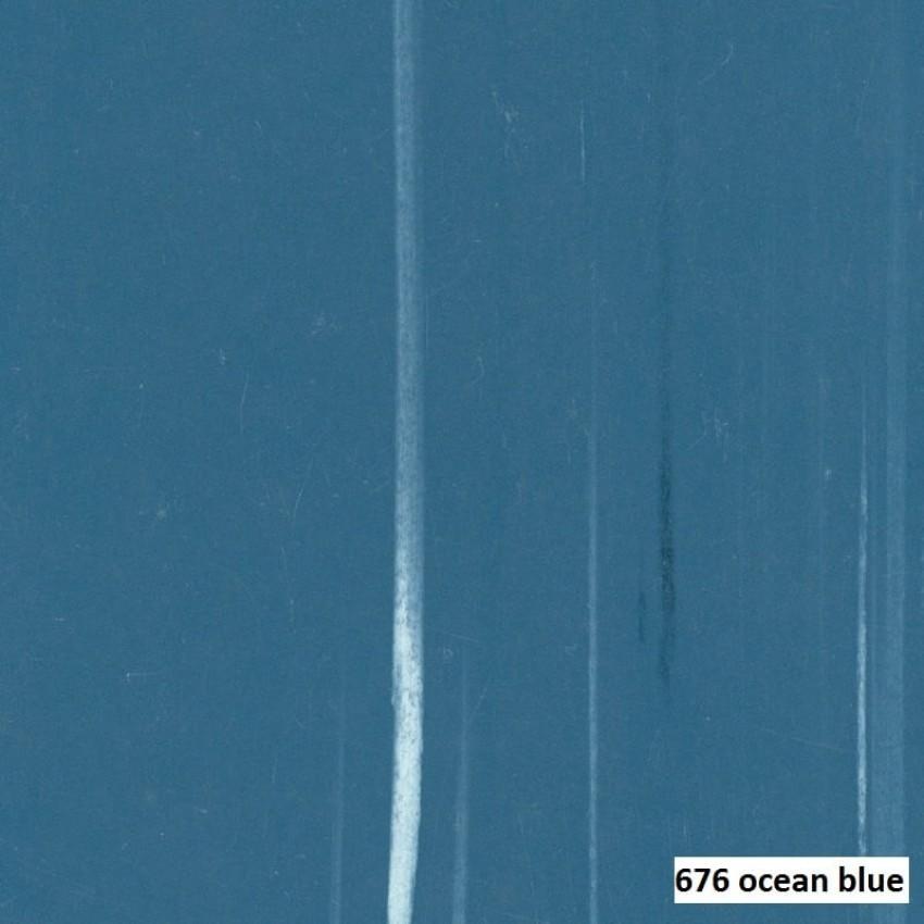 PVC VINYL TILE  676 OCEAN BLUE MACTILE