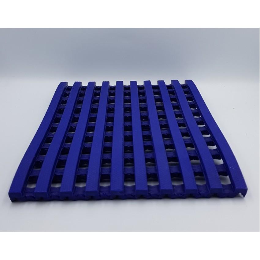 Antislip pvc vinyl floor Crossmat blue