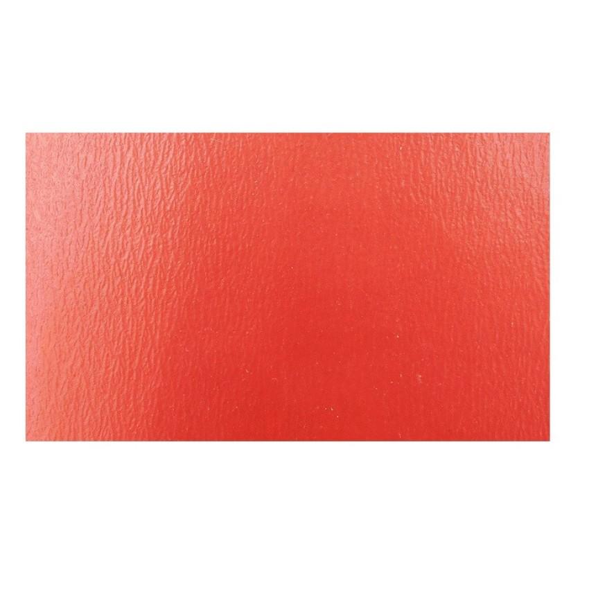 MONOCHROME LINOLEUM FLOOR 041 RED ETRUSCO